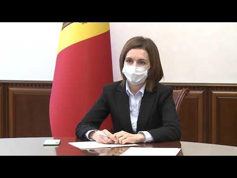 Президент Республики Молдова Майя Санду провела встречу с резидентом-координатором ООН и представителем ВОЗ в нашей стране