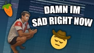 HOW TO BE A SAD BOY😞✊- HOW TO MAKE SAD BEATS IN FL STUDIO