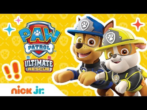 Ultimate Rescue Moments Ft. Marshall, Chase, Skye, & More! | PAW Patrol | Nick Jr.