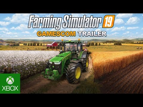 FS19 - Gamescom Official Trailer - Gameplay #1