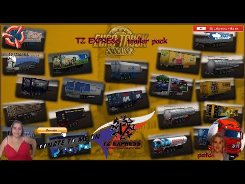 TZ Express Trailers Pack + Ownable Package 1.39.x