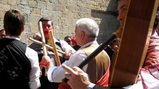 Jaca Spain  city images : Santa Orosia festival in Jaca, Spain