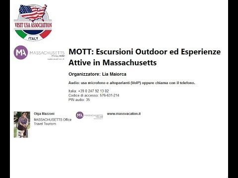 Video MOTT: Escursioni Outdoor ed Esperienze Attive in Massachusetts (11-4-2019)