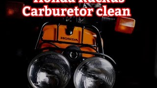 10. How to clean a carburetor on a Honda Ruckus / Zoomer NP50