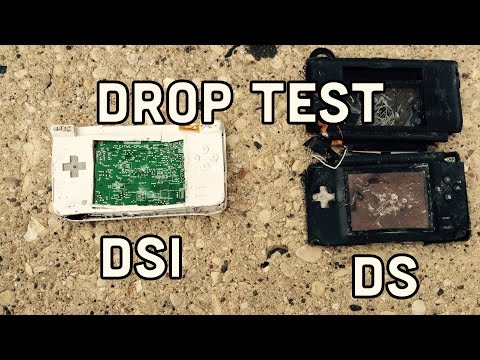 Nintendo DS And DSI Drop Test