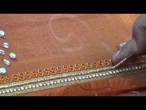 indian bead embroidery