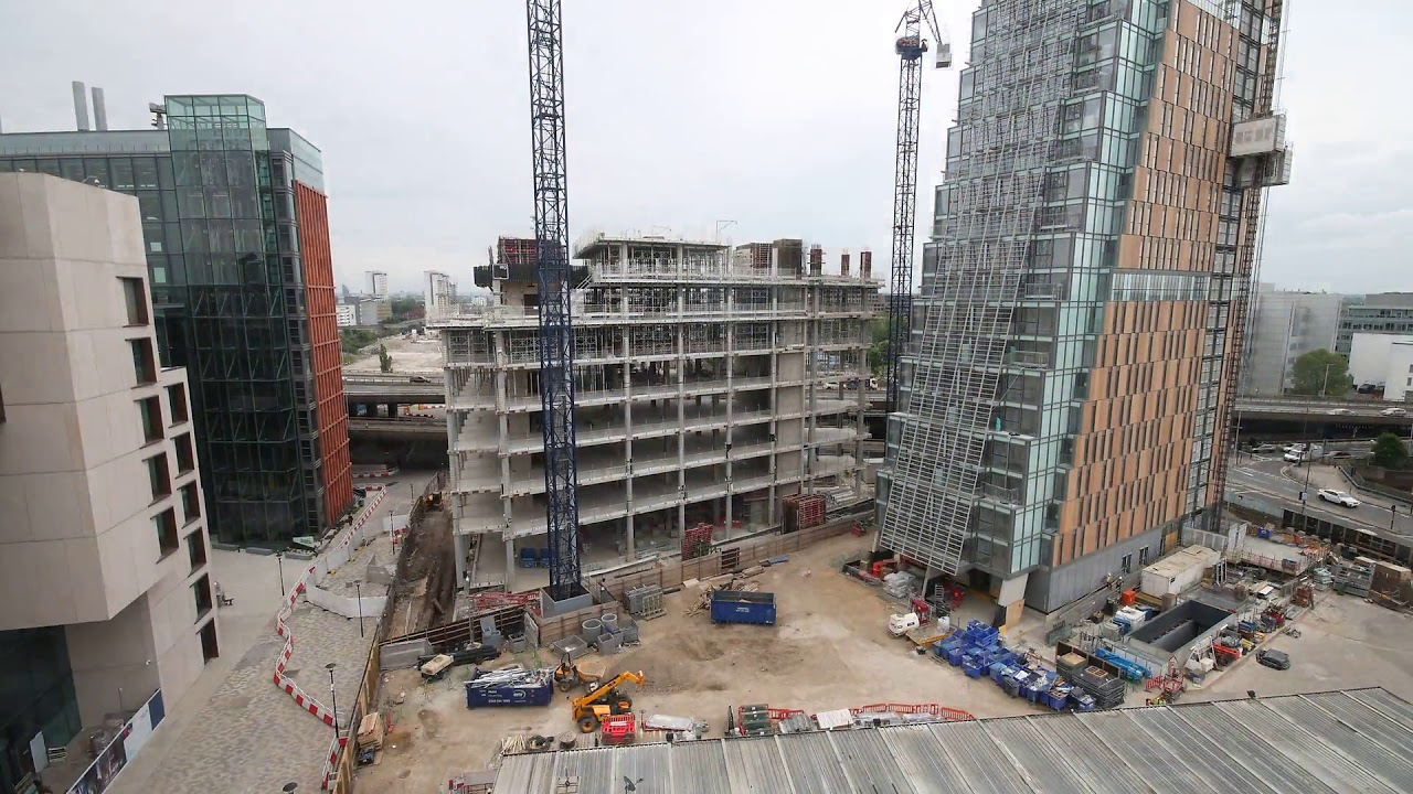 Sir Michael Uren Hub time lapse – January 2020