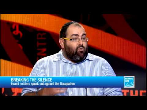 FRANCE 24 The Interview - Yehuda Shaul, Co-founder, 'Breaking the Silence'