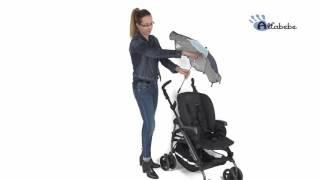 Altabebe Sonnenschirm für Kinderwagen AL7000 – Video-Anleitung