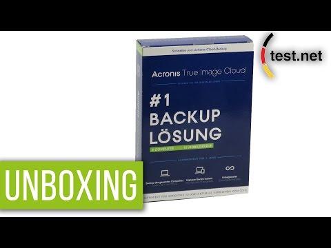 Acronis | True Image Backup Lösung (Unboxing) | test.net