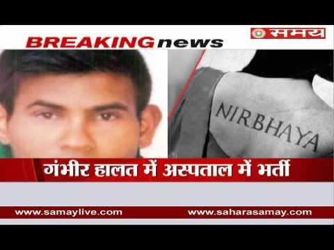 Accused of Nirbhaya Gangrape tried to commit suicide in Tihar jail