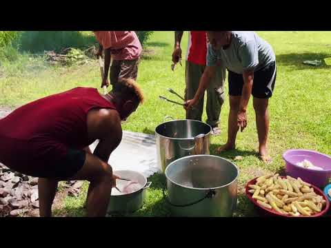 "PNG's Traditional Way Of Cooking ""Aigirr"" 2019"