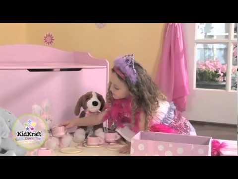 Kidkraft Austin roze Speelgoedkist