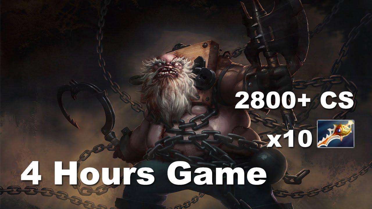 Dota 2: Trận chiến nghẹt thở trong 4h với 2600 CS