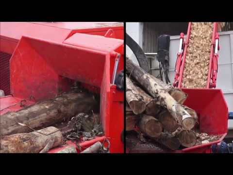 Picador de Madeira Florestal Lippel com Motor MWM de 318 CV