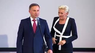 Zakłócone przemówienie Adriana w III LO w Gdyni !!!
