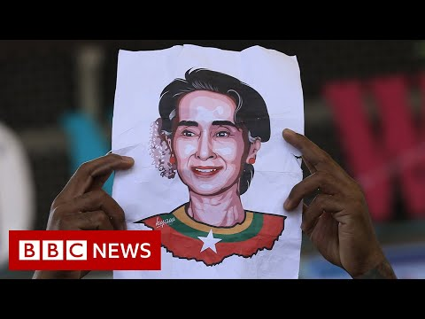 Aung San Suu Kyi appears in Myanmar court on video - BBC News