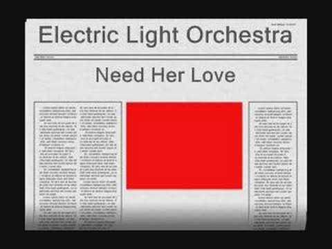 Tekst piosenki Electric Light Orchestra - Need Her Love po polsku