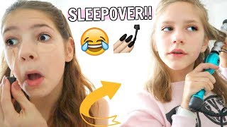 Video ANNIE AND HOPE CANNOT STOP LAUGHING😂 NAILS & SLEEPOVER💅🏼 MP3, 3GP, MP4, WEBM, AVI, FLV Oktober 2018