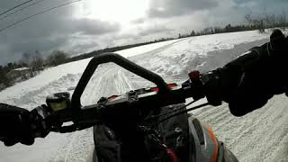 10. 2019 Arctic Cat High Country 8000 141 first ride.