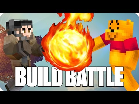 ¡BATALLA DE MAGOS! BUILD BATTLE | Minecraft con Luh