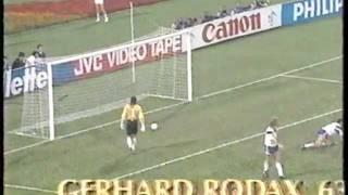 Lichtblick der WM 90: Ogris trifft zur Führung gegen die USA