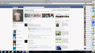 How to flood someone's facebook wall