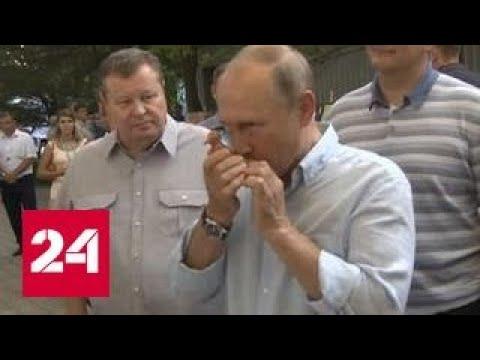 """Владимир Путин рассказал, как руководить """"самым большим оркестром в мире"""""""