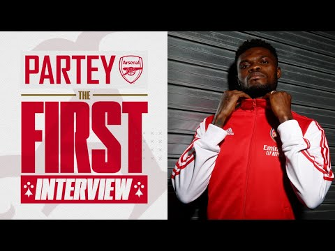 Thomas Partey is here!   First Arsenal interview