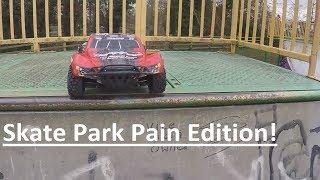Video Traxxas Slash 4x4 Skate Park Pain Edition MP3, 3GP, MP4, WEBM, AVI, FLV Oktober 2018