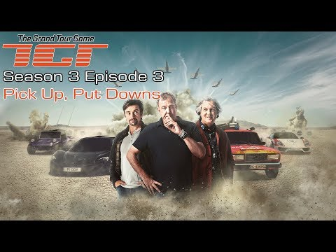 The Grand Tour Game - Season 3 Episode 3 - Pick Up, Put Downs - Full Walkthrough