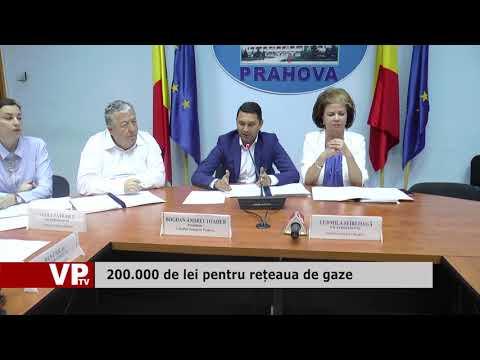 Bani pentru rețeaua de gaze din nouă localități