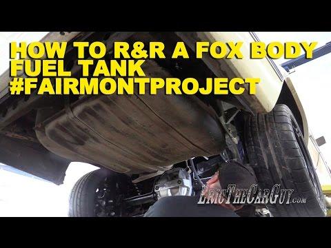How To R&R a Fox Body Fuel Tank #FairmontProject (видео)