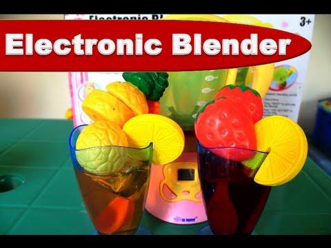 Kitchen Playset Electronic Blender Playset Kids' Toys