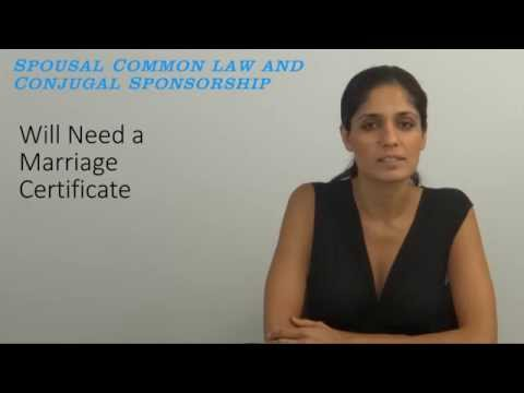 Difference between Spousal Common Law and Conjugal Sponsorship Video