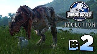 CREATING DINOSAURS! - Jurassic World Evolution | Ep2