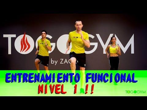 FUNCTIONAL TRAINING 1 | Entrenamiento funcional | Sentadilla | Lunge | Plancha abdominal | Skipping
