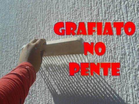 Grafiato com Pente