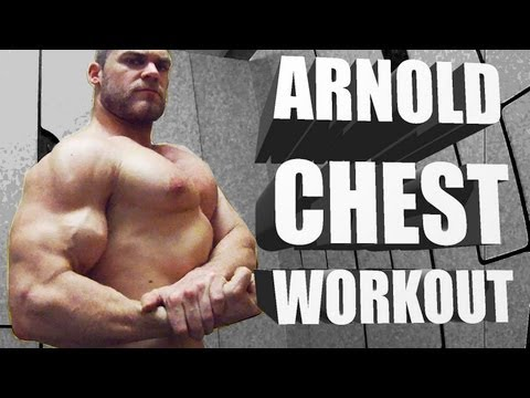 Arnold Chest Routine  – Classic Bodybuilding Workout
