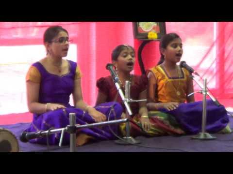 Vineela - Sami Ninne By Kasturi, Madhu and Vineela At Dhwani 2014.