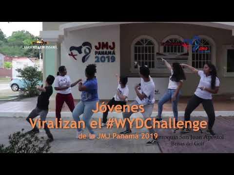 Viralizan el #WYDChallenge de la JMJ Panamá 2019