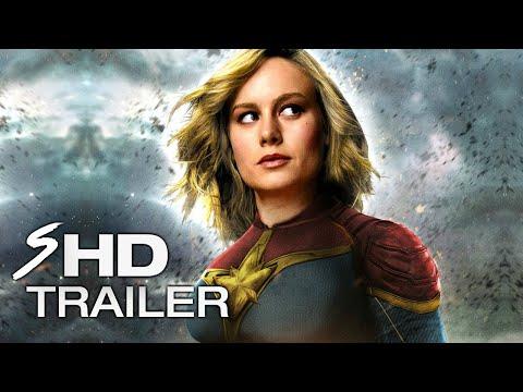 Captain Marvel (2019) - BRIE LARSON Teaser Trailer (LEAKED FOOTAGE) (Fan Made)