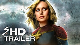 Captain Marvel (2019) - Teaser Trailer Concept BRIE LARSON (LEAKED FOOTAGE) (Fan Made)