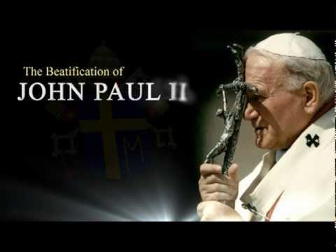 Mass of thanksgiving for beatification of Pope Blessed John Paul II