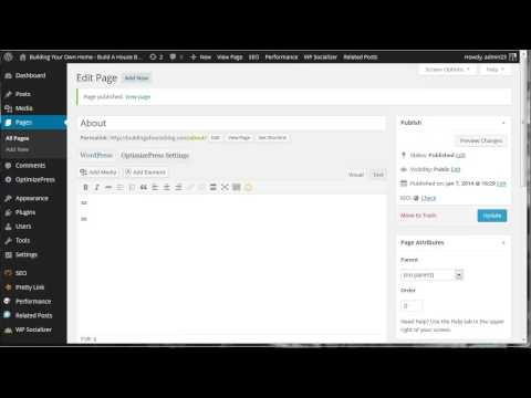 Learn How To Use Menus in WordPress Tutorial Video for Beginners