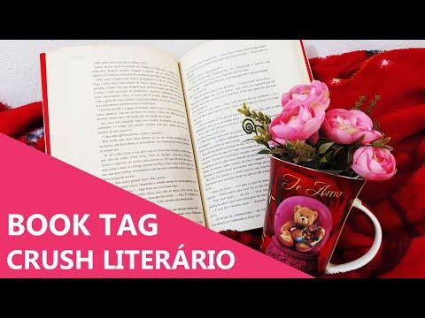 CRUSH LITERÁRIO - BOOK TAG ???| Especial dos Namorados ? | Biblioteca da Rô