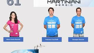 #vaporetti2018 Equipaggio N°61 Martiniani Sergio