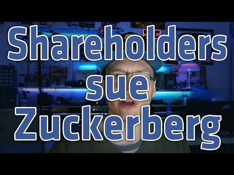 Shareholders sue Zuckerberg and Facebook over Cambridge Analytica Leaks (видео)