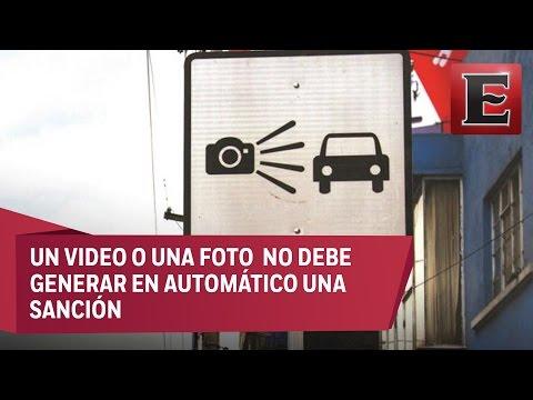 Juez declara inconstitucionales las fotomultas en la CDMX