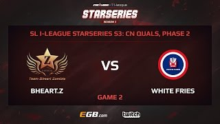 Bheart.Z vs White Fries, Game 2, SL i-League StarSeries Season 3, China